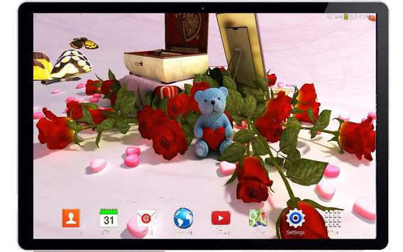 Valentine's Day 3D Wallpaper apk screenshot
