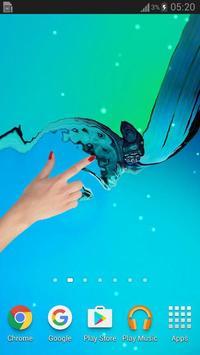 Galaxy Water Live Wallpaper apk screenshot