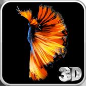 Betta Fish 3D Live Wallpaper icon