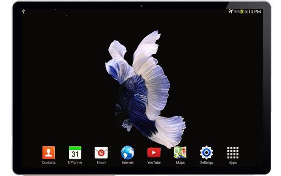 Betta Fish 3D Live Wallpaper apk screenshot