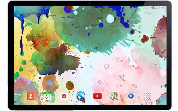Color Ink 3D Live Wallpaper apk screenshot