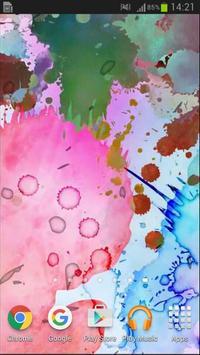 Color Ink 3D Live Wallpaper poster