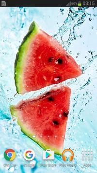 Fruits Live Wallpaper apk screenshot
