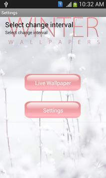 Winter Live Wallpaper apk screenshot