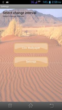 Desert Live Wallpaper screenshot 1