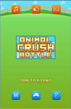 Animal Crush Battle poster
