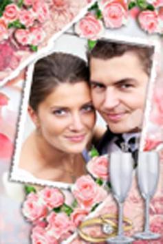 Wedding Frame Collage poster