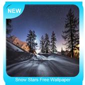 Snow Stars Free Wallpaper icon