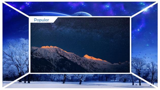 Snow Stars Free Wallpaper screenshot 1