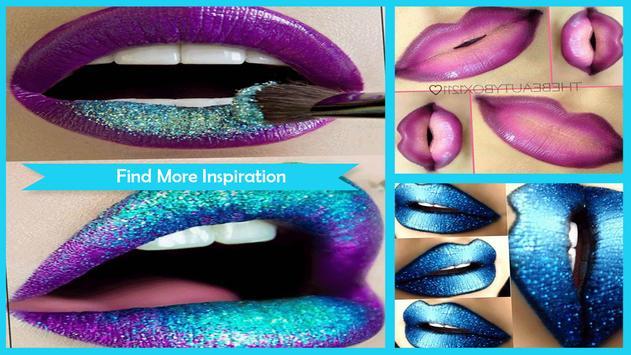 Sexy Ombre Lips Tutorial screenshot 4
