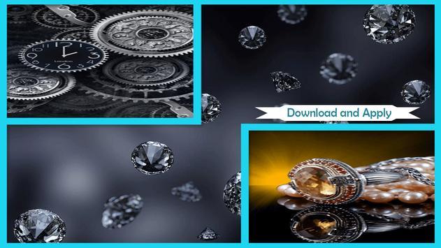 Silver Live Wallpaper HD apk screenshot