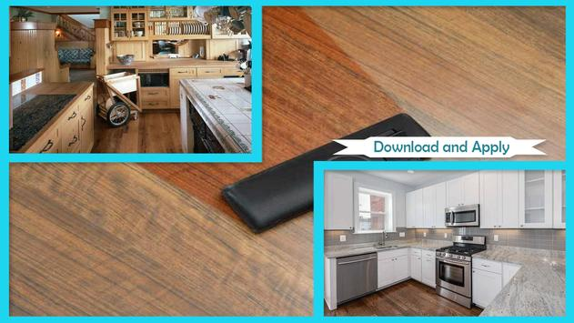 Simple Clean Ceramic Tile Countertops poster