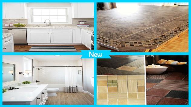 Simple Clean Ceramic Tile Countertops screenshot 3