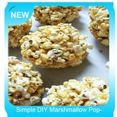 Simple DIY Marshmallow Popcorn Balls icon