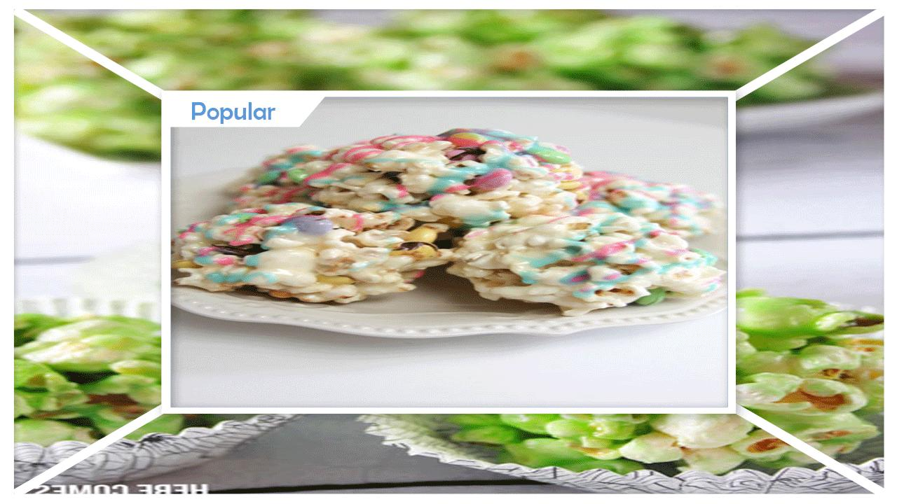 Simple DIY Marshmallow Popcorn Balls poster