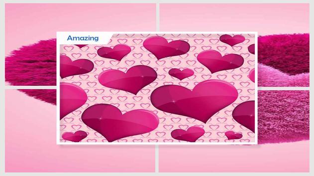 Purple Hearts Live Wallpaper screenshot 3