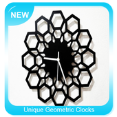 Unique Geometric Clocks icon