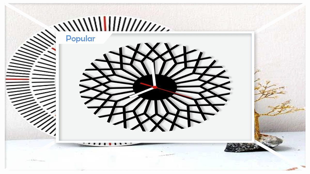 Unique Geometric Clocks poster