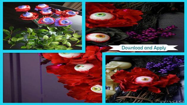 Unique Styrofoam Halloween Eyeball Bouquet poster