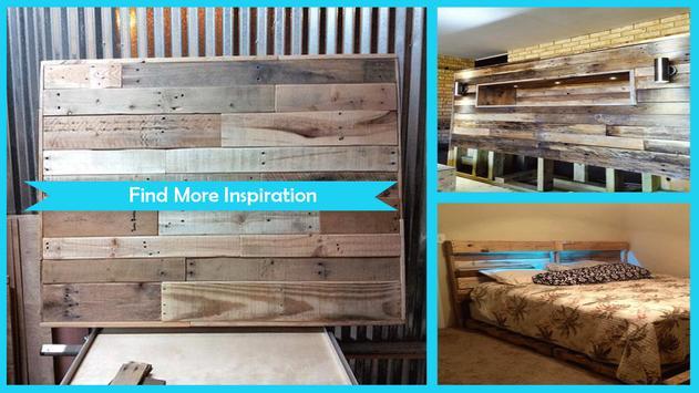 Upcycled Wood Pallet Headboard apk screenshot