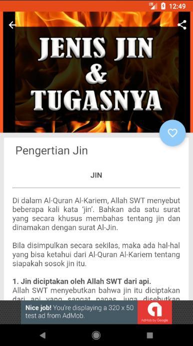 Jenis Jin dan Tugasnya for Android - APK Download