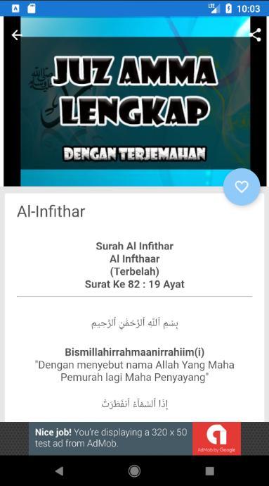 Juz Amma Dan Terjemahannya Für Android Apk Herunterladen