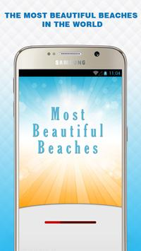 Most beautiful beaches poster