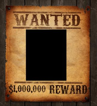 most wanted photo frame