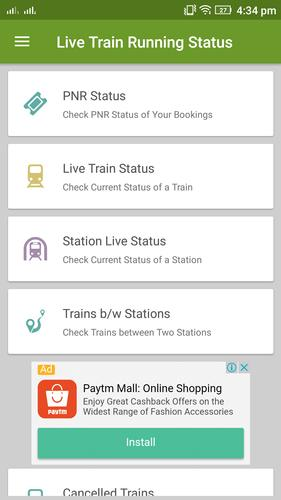 Live Train Status, Check PNR Status for Android - APK Download