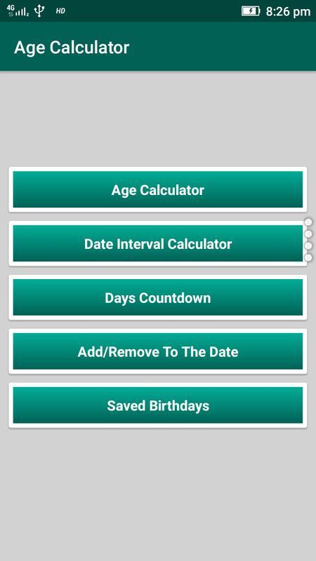 Online age calculator between two dates in Brisbane