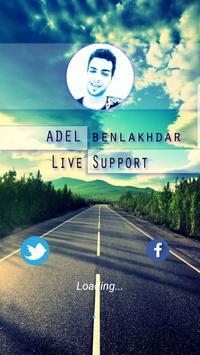 ADeL Benlakhdar - Live Support poster