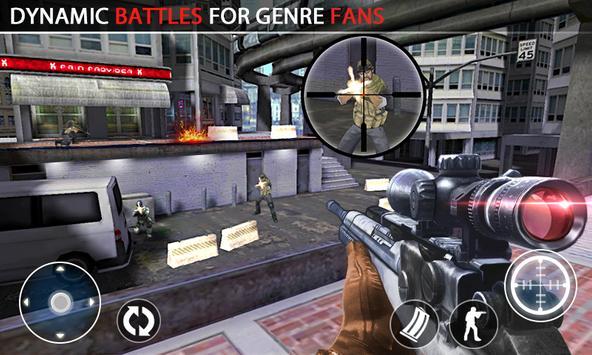 SWAT Anti-Terrorist Elite Shot apk screenshot