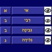 Hebrew Aphabet 1,0 icon