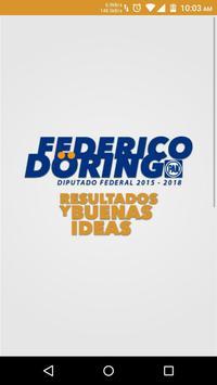 Dip. Federico Döring Casar poster