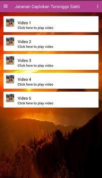 Jaranan Caplokan Turonggo Sakti apk screenshot