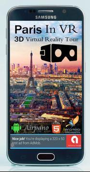 Paris in VR - 3D Virtual Reality Tour & Travel poster