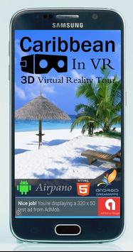 Caribbean in VR - 3D Virtual Reality Tour & Travel poster