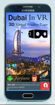 Dubai in VR - 3D Virtual Reality Tour & Travel poster