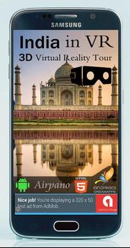 India in VR - 3D Virtual Reality Tour & Travel poster