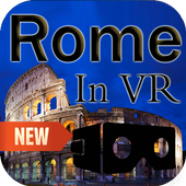 Rome in VR - 3D Virtual Reality Tour & Travel icon