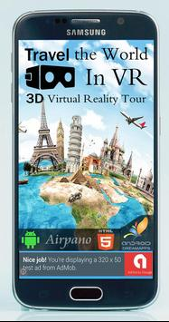 Travel The World in VR - 3D Virtual Reality Tours poster