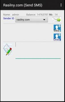 Rasilny SMS apk screenshot
