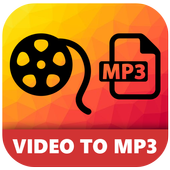 Video to mp3 HD audio quality icon