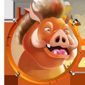 Pig Run Run 3D - Line Breaker icon