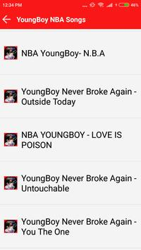 Nba YoungBoy Songs poster