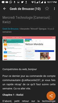 Geek De Brousse apk screenshot