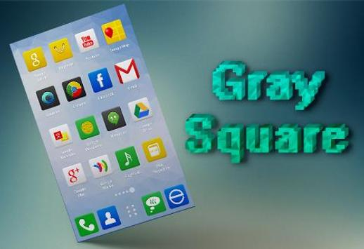 Gray Square Icons & Wallpapers screenshot 1
