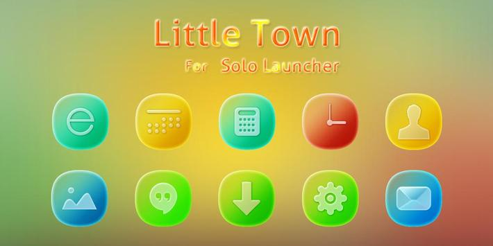 Little Town Icons & Wallpapers poster