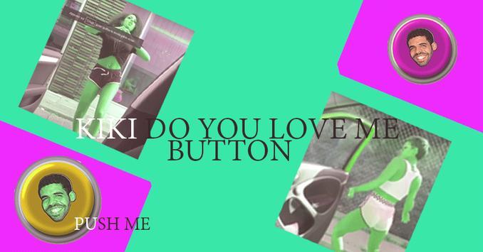 Kiki Challenge Button poster