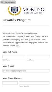 Moreno Insurance Agency screenshot 2
